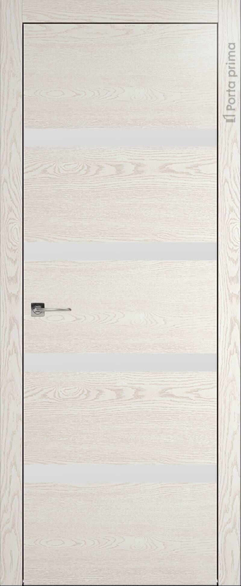 Tivoli Д-4 цвет - Белый ясень (nano-flex) Без стекла (ДГ)
