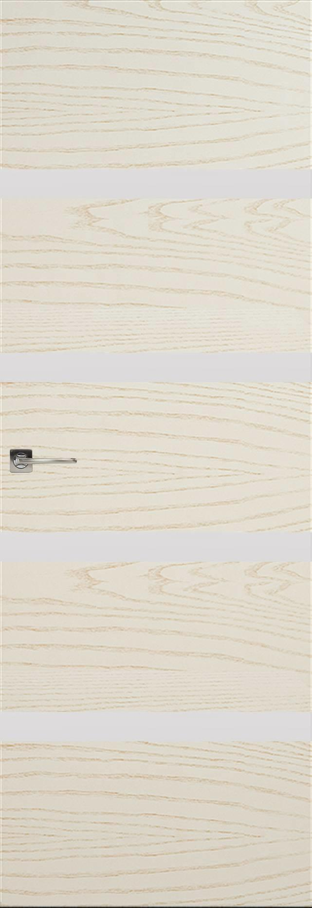 Tivoli Д-4 Invisible цвет - Ясень бежевая эмаль Без стекла (ДГ)