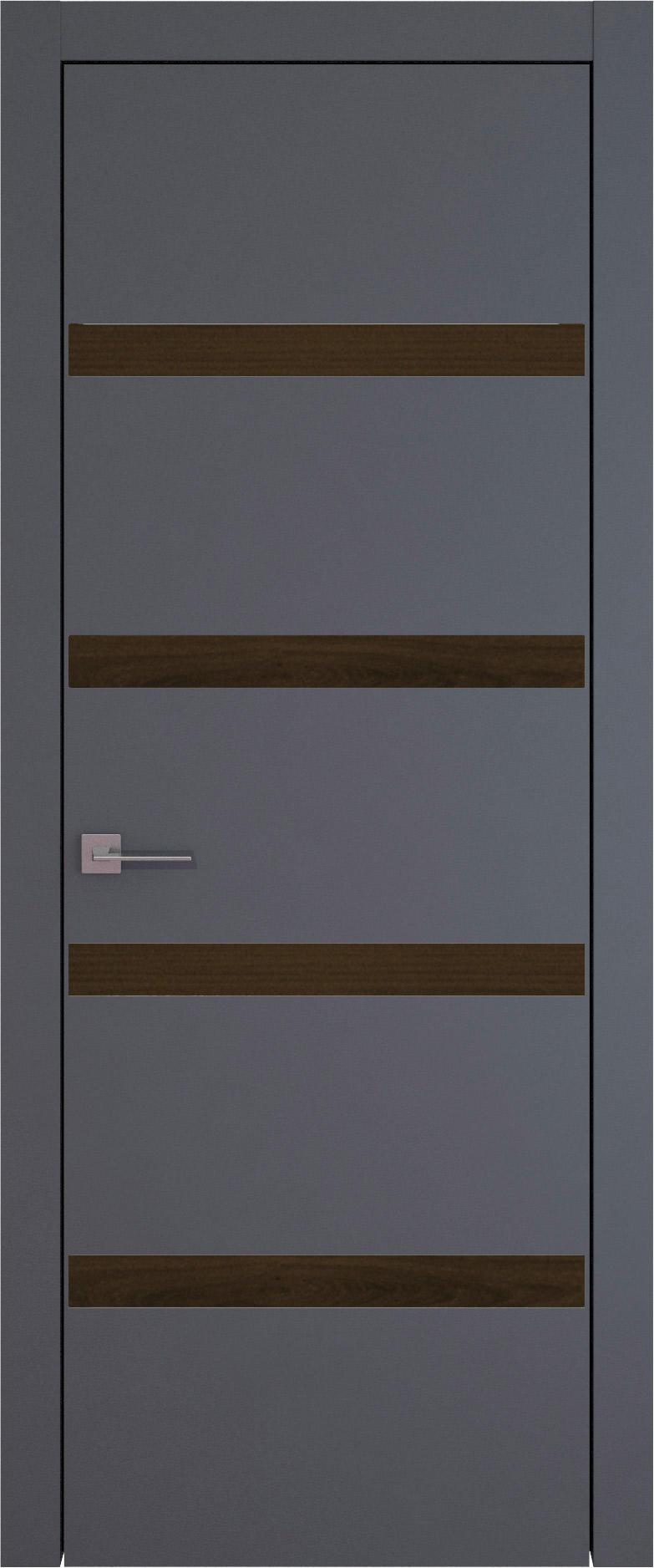 Tivoli Д-4 цвет - Графитово-серая эмаль (RAL 7024) Без стекла (ДГ)