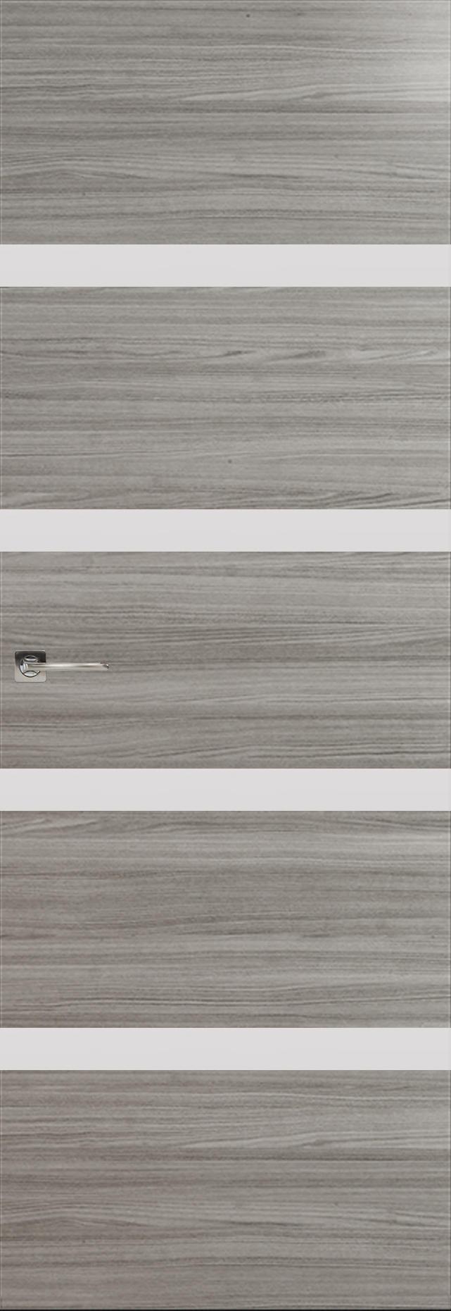 Tivoli Д-4 Невидимка цвет - Орех пепельный Без стекла (ДГ)