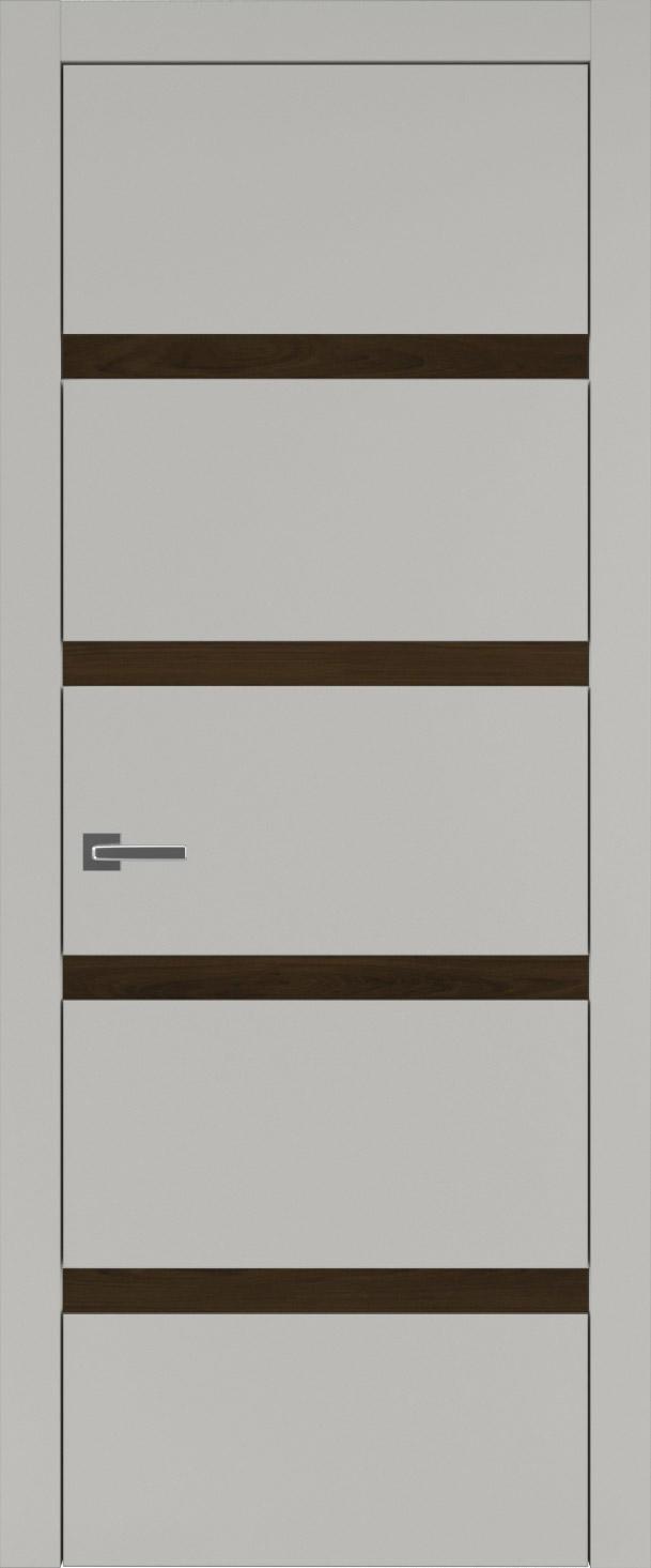 Tivoli Д-4 цвет - Серая эмаль (RAL 7047) Без стекла (ДГ)