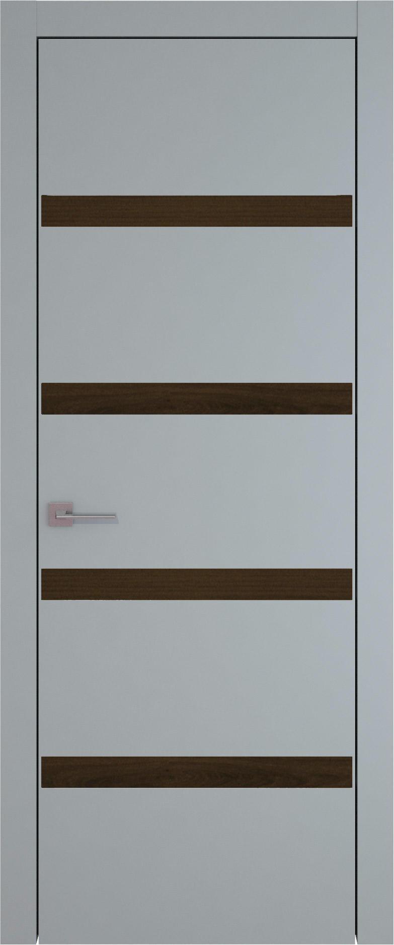 Tivoli Д-4 цвет - Серебристо-серая эмаль (RAL 7045) Без стекла (ДГ)