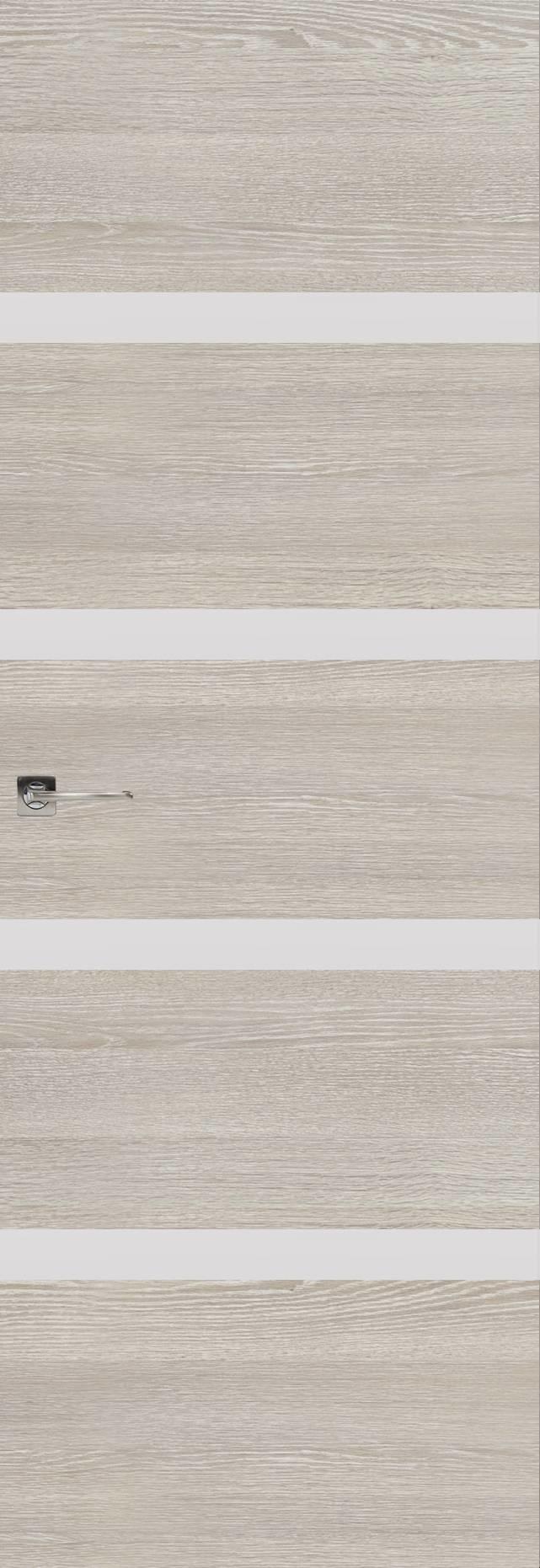 Tivoli Д-4 Невидимка цвет - Серый дуб Без стекла (ДГ)