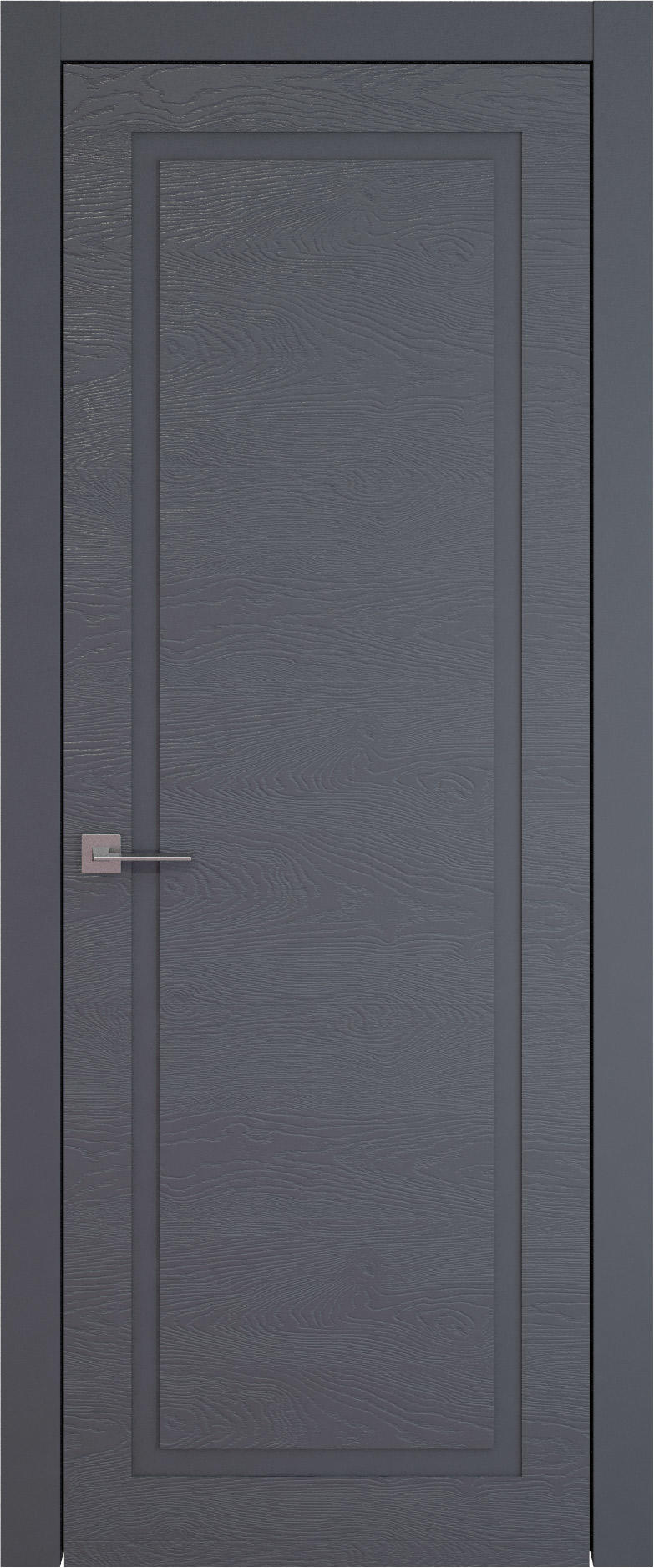 Tivoli Д-5 цвет - Графитово-серая эмаль по шпону (RAL 7024) Без стекла (ДГ)