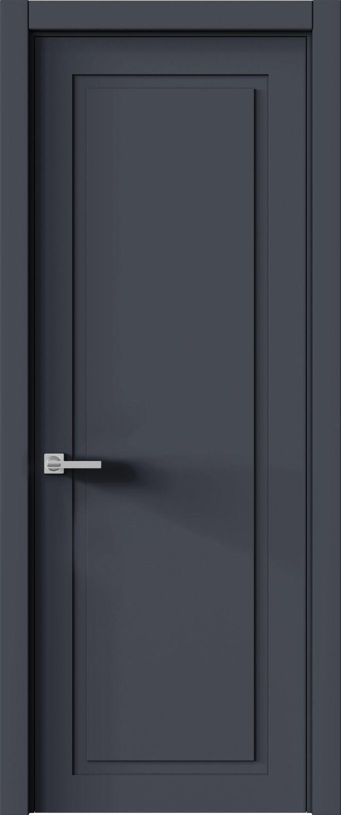 Tivoli Д-5 цвет - Графитово-серая эмаль (RAL 7024) Без стекла (ДГ)