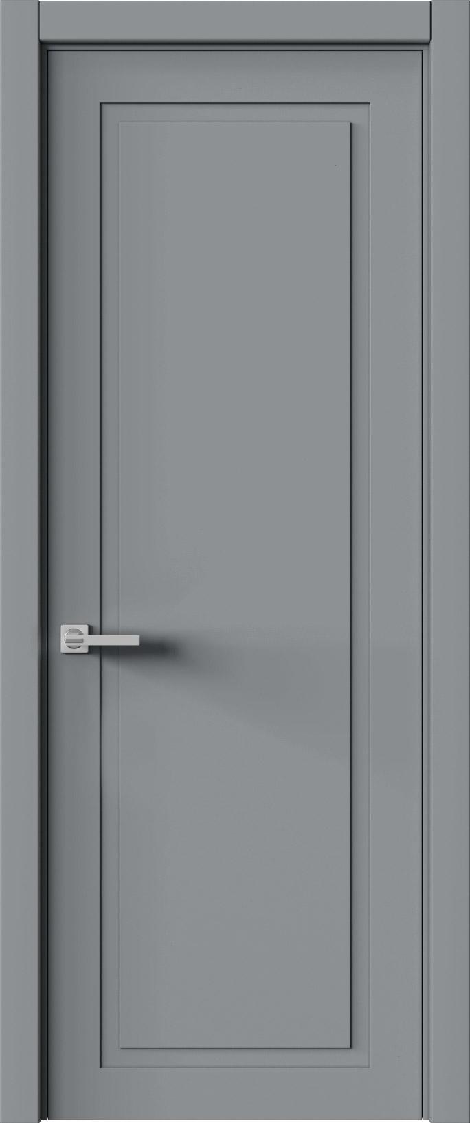 Tivoli Д-5 цвет - Серебристо-серая эмаль (RAL 7045) Без стекла (ДГ)
