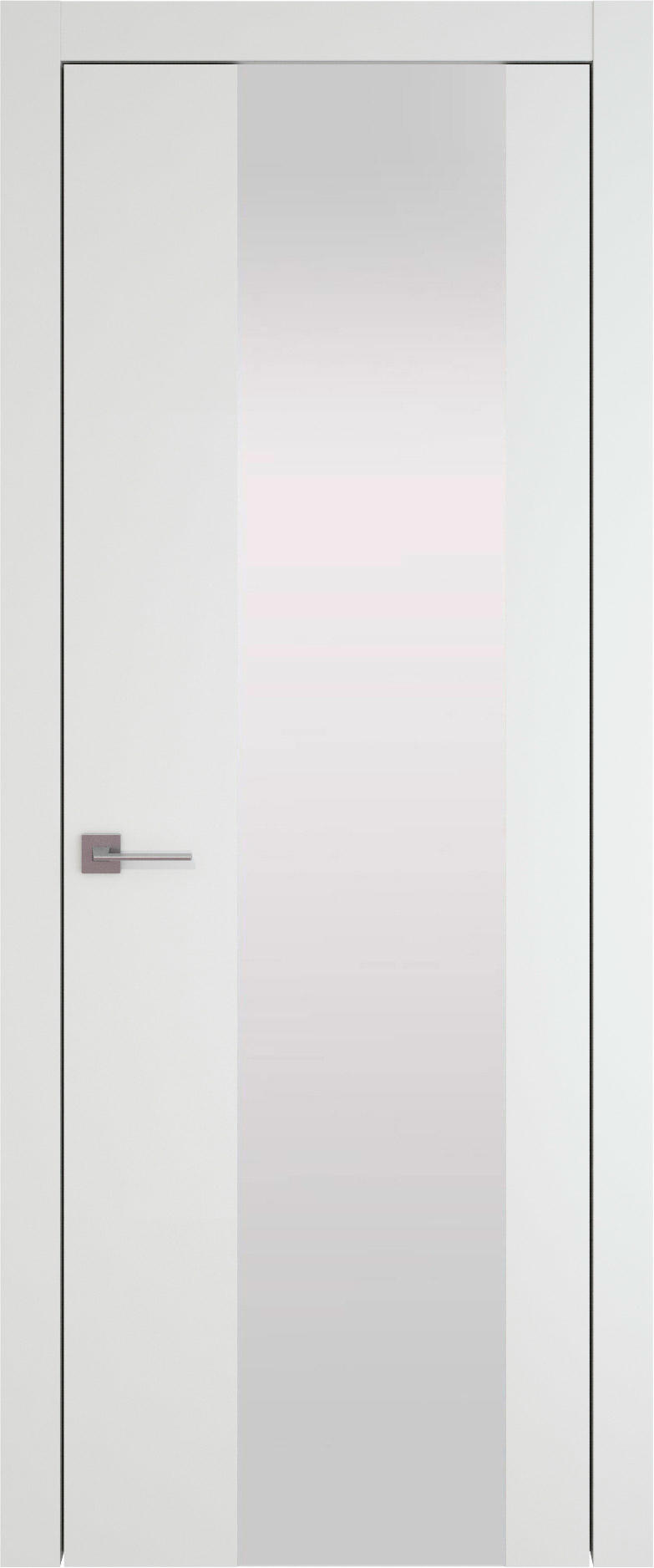 Tivoli Е-1 цвет - Белая эмаль (RAL 9003) Со стеклом (ДО)