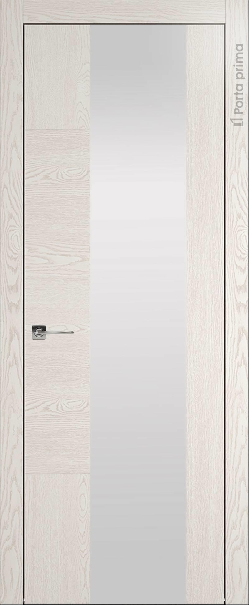 Tivoli Е-1 цвет - Белый ясень (nano-flex) Со стеклом (ДО)