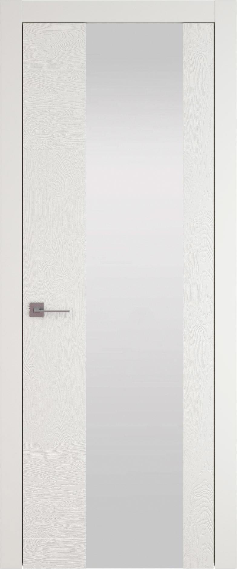 Tivoli Е-1 цвет - Бежевая эмаль по шпону (RAL 9010) Со стеклом (ДО)