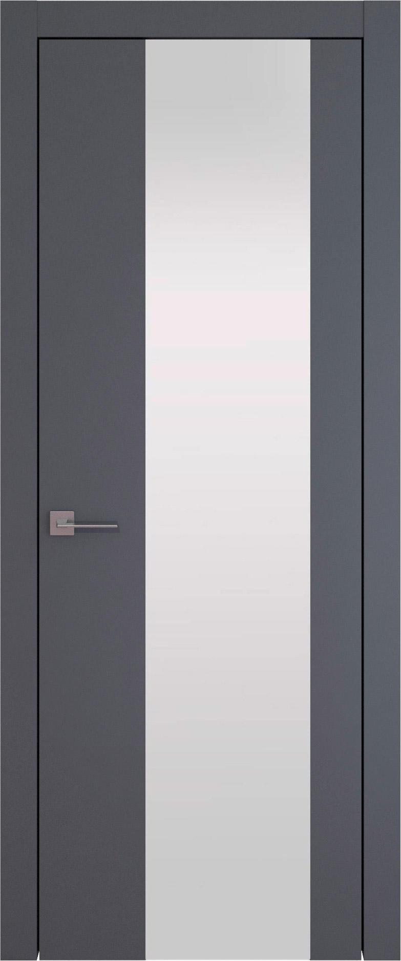 Tivoli Е-1 цвет - Графитово-серая эмаль (RAL 7024) Со стеклом (ДО)