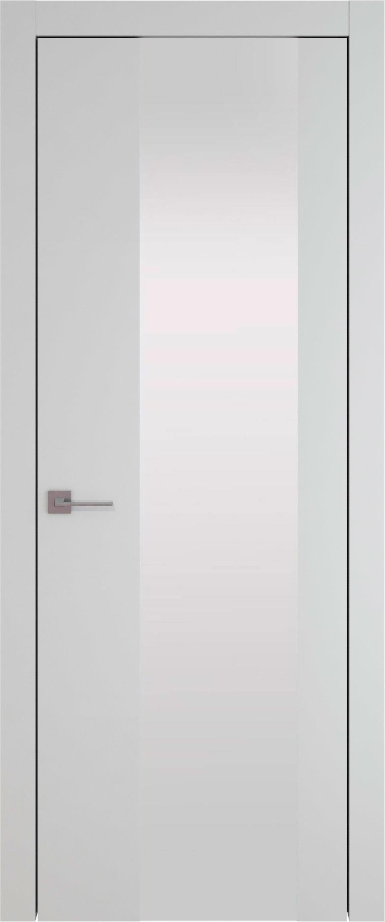 Tivoli Е-1 цвет - Серая эмаль (RAL 7047) Со стеклом (ДО)