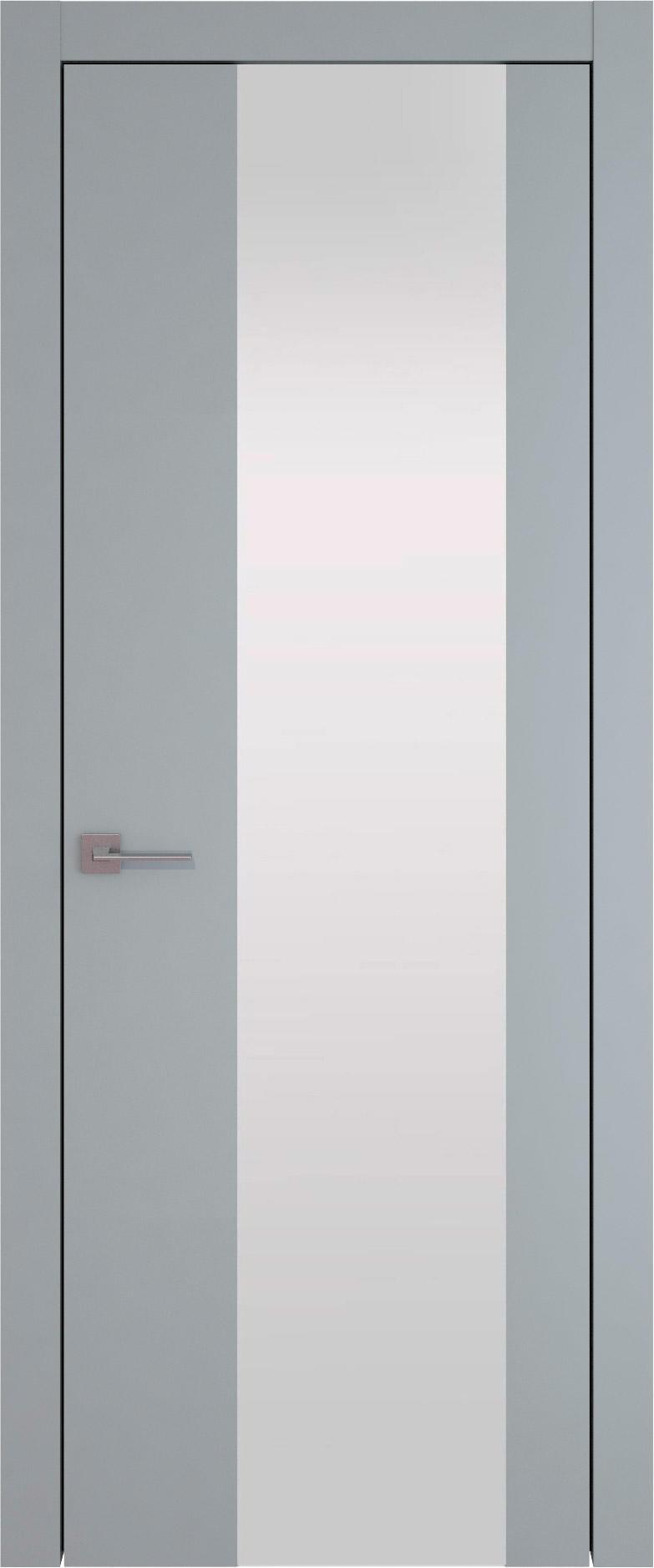 Tivoli Е-1 цвет - Серебристо-серая эмаль (RAL 7045) Со стеклом (ДО)