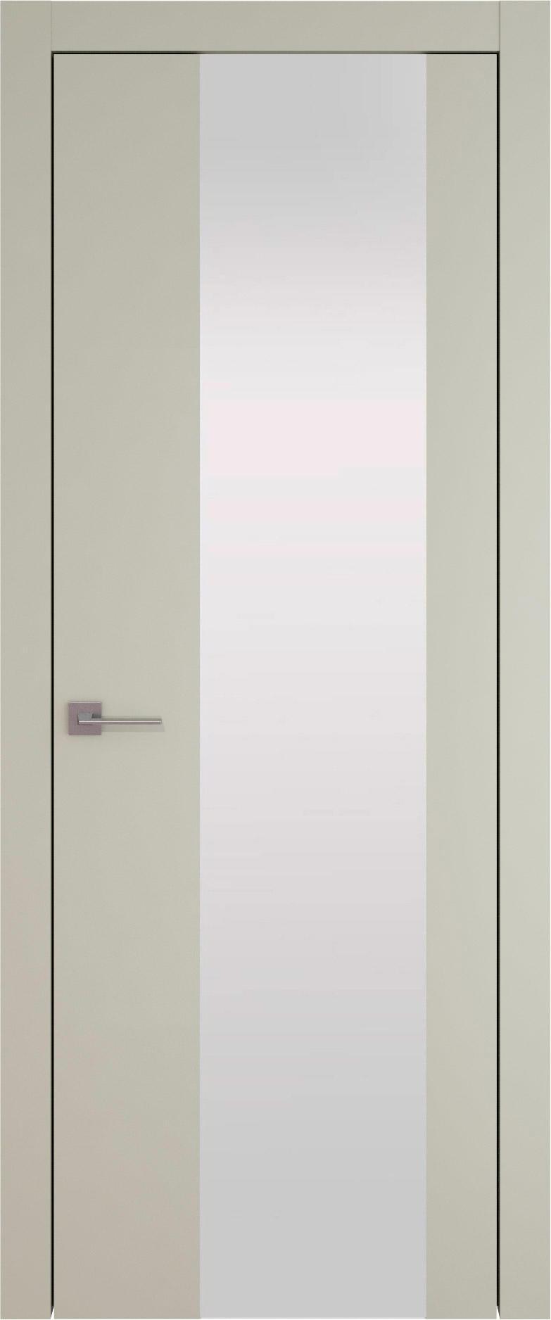 Tivoli Е-1 цвет - Серо-оливковая эмаль (RAL 7032) Со стеклом (ДО)