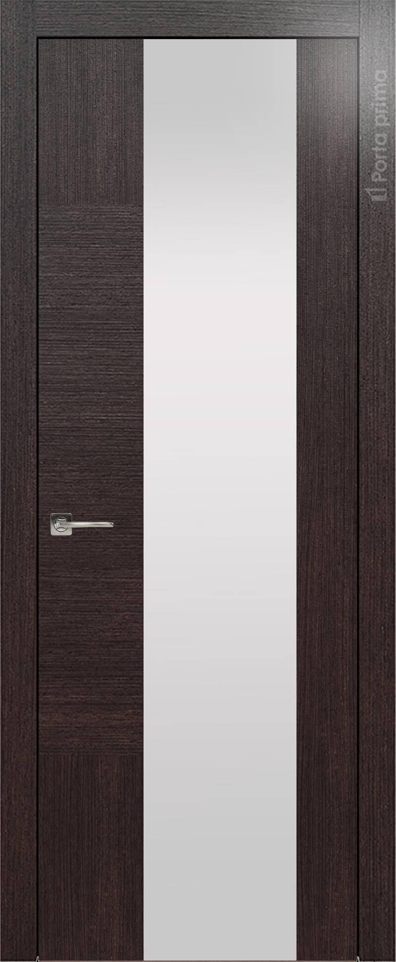 Tivoli Е-1 цвет - Венге Шоколад Со стеклом (ДО)