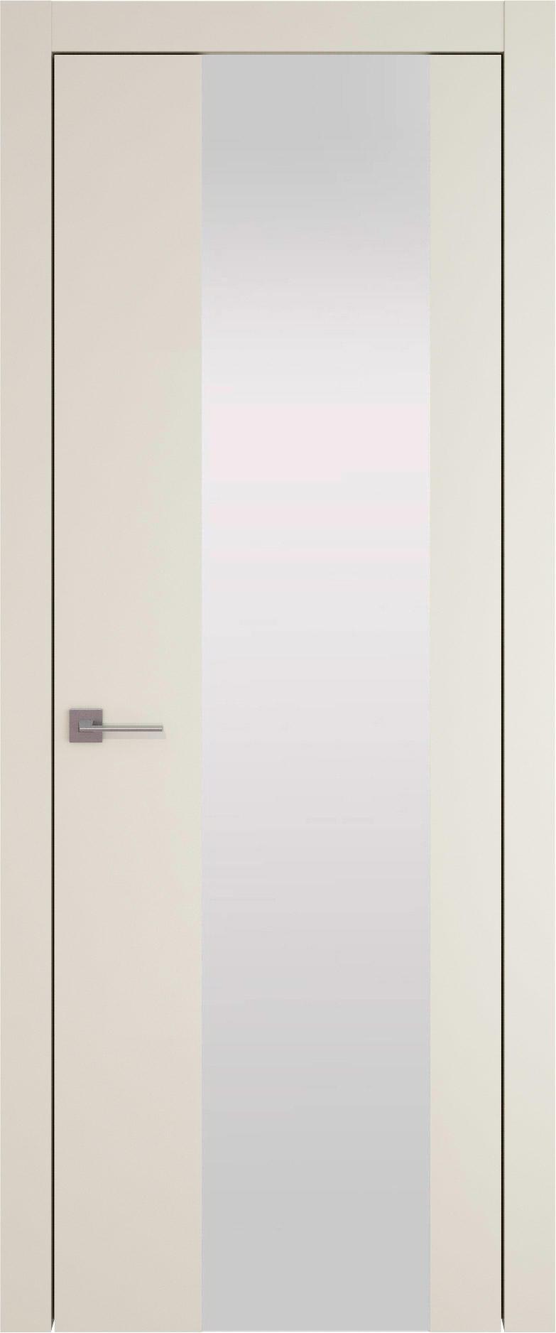 Tivoli Е-1 цвет - Жемчужная эмаль (RAL 1013) Со стеклом (ДО)