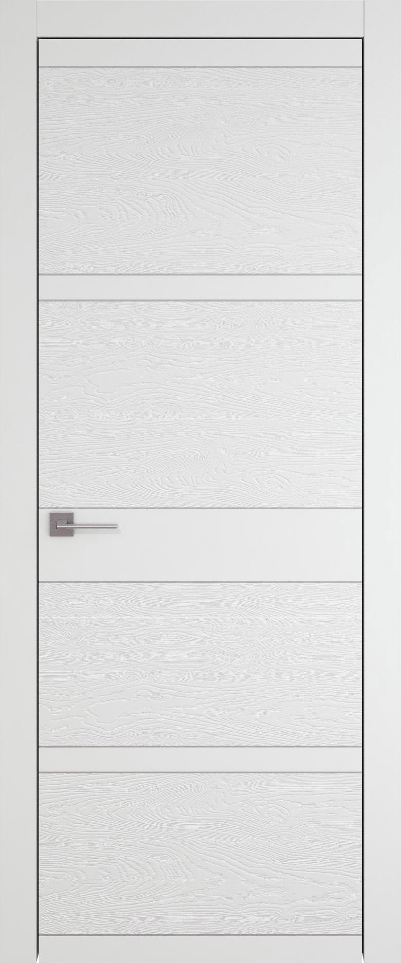 Tivoli Е-2 цвет - Белая эмаль-эмаль по шпону (RAL 9003) Без стекла (ДГ)