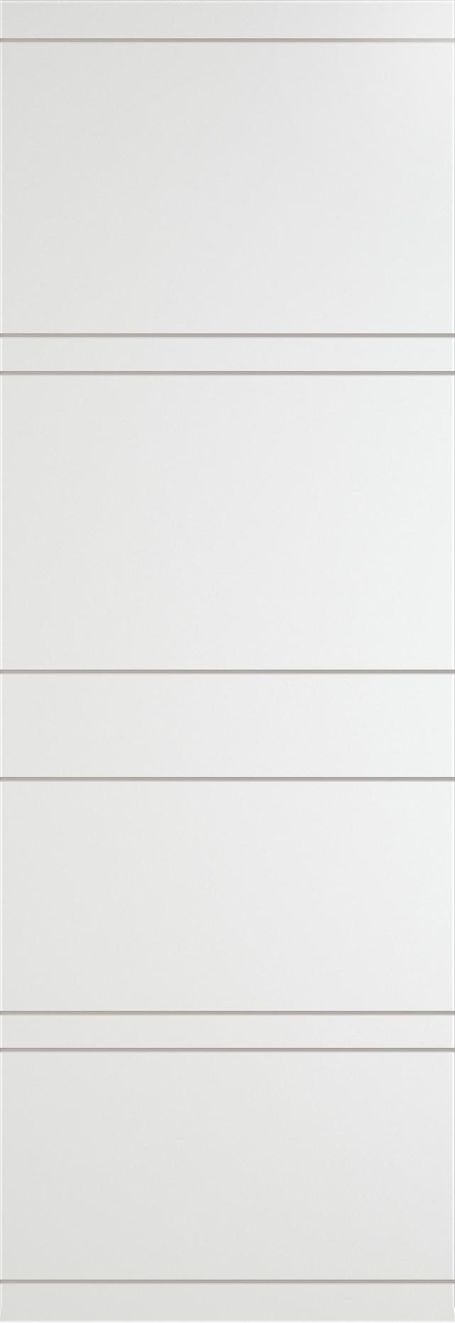 Tivoli Е-2 Invisible цвет - Белая эмаль Без стекла (ДГ)