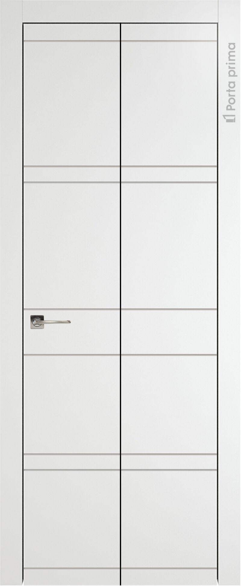 Tivoli Е-2 Книжка цвет - Белая эмаль Без стекла (ДГ)