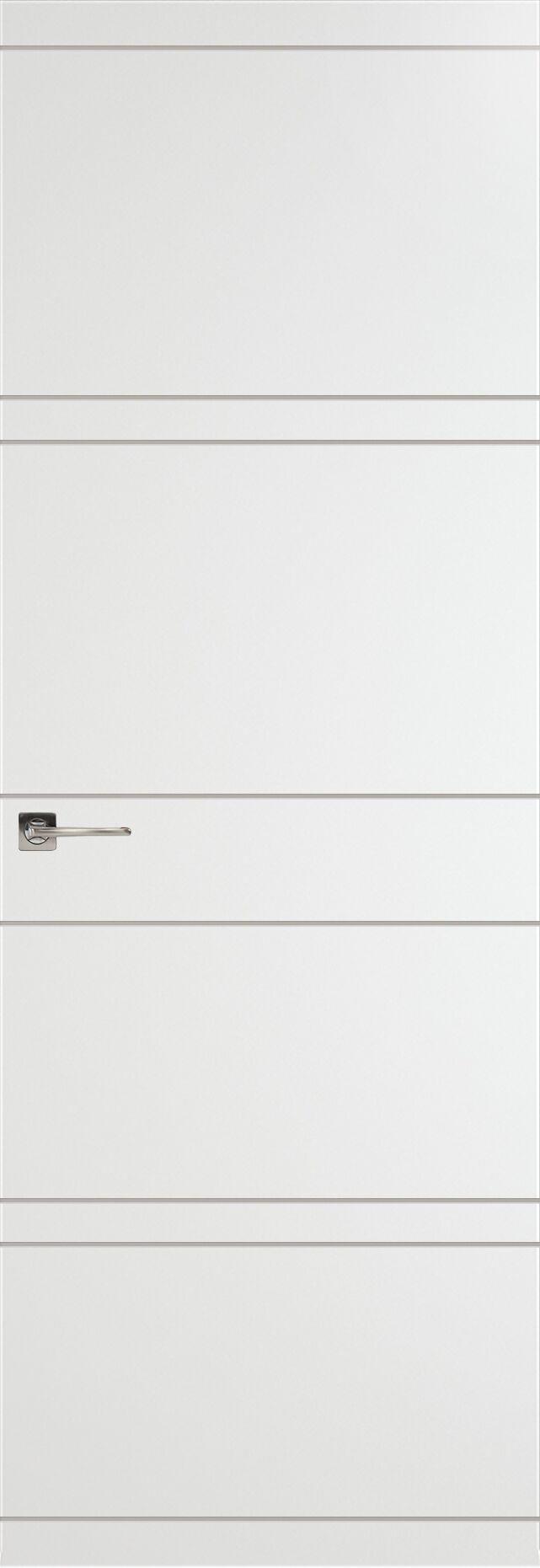 Tivoli Е-2 Невидимка цвет - Белая эмаль Без стекла (ДГ)