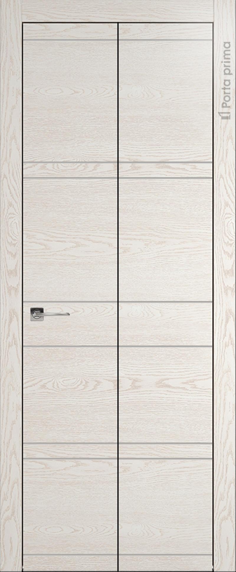 Tivoli Е-2 Книжка цвет - Белый ясень Без стекла (ДГ)