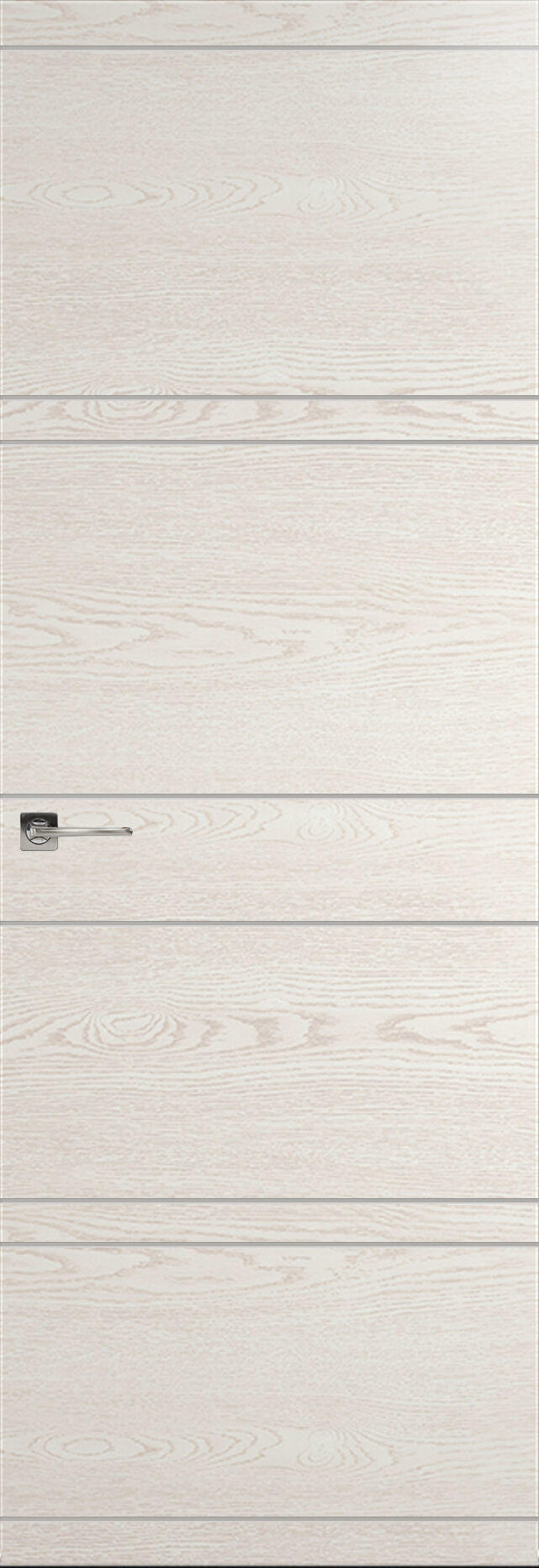 Tivoli Е-2 Невидимка цвет - Белый ясень Без стекла (ДГ)