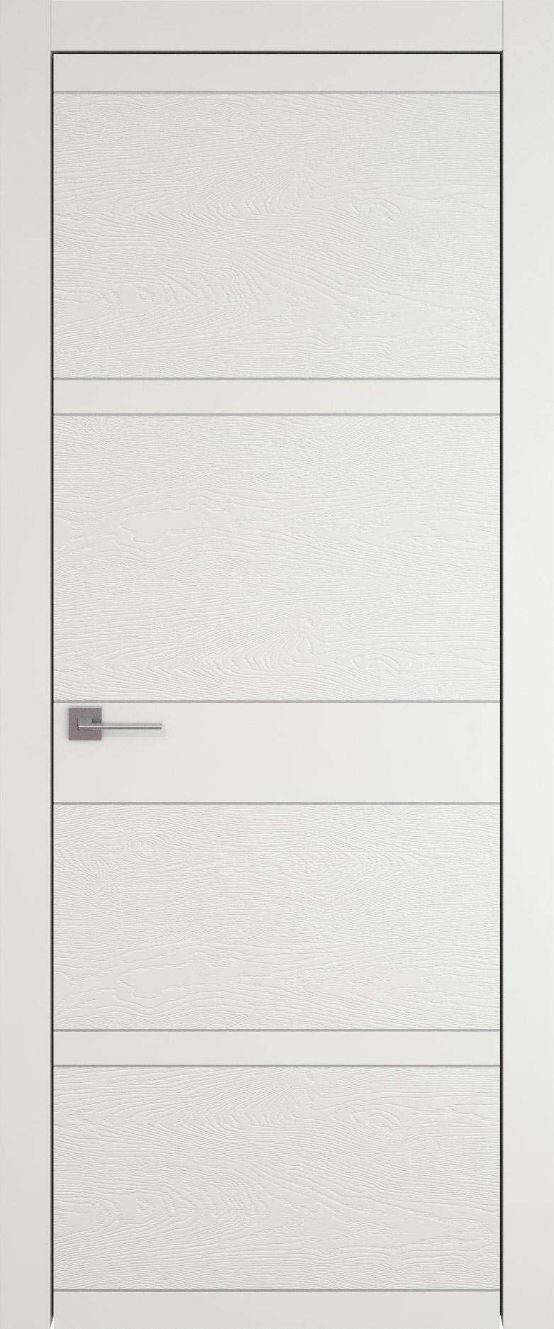 Tivoli Е-2 цвет - Бежевая эмаль-эмаль по шпону (RAL 9010) Без стекла (ДГ)