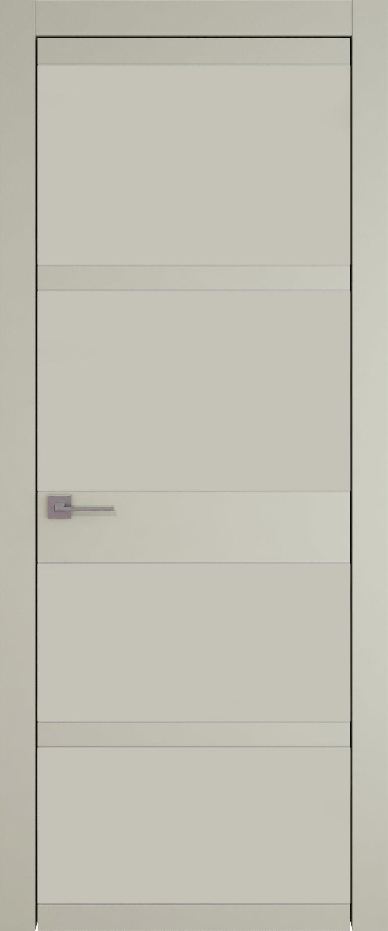 Tivoli Е-2 цвет - Серо-оливковая эмаль (RAL 7032) Без стекла (ДГ)