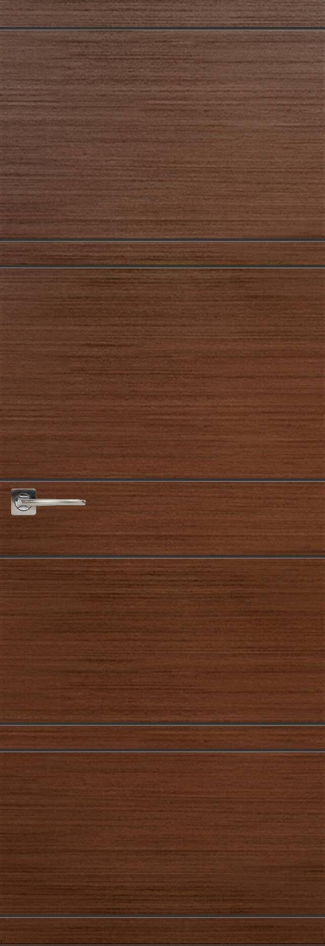 Tivoli Е-2 Невидимка цвет - Темный орех Без стекла (ДГ)
