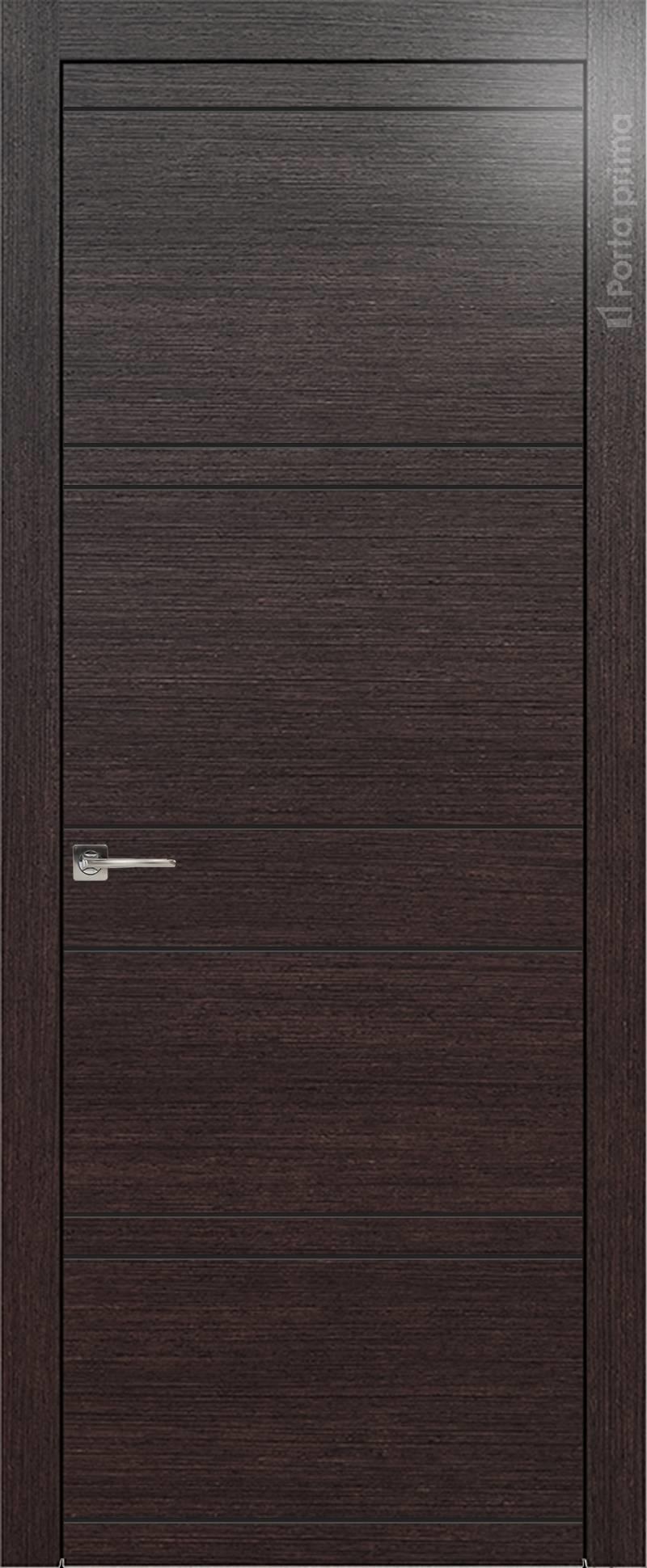 Tivoli Е-2 цвет - Венге Шоколад Без стекла (ДГ)