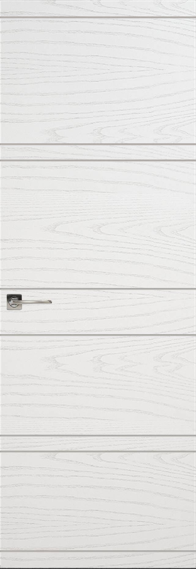 Tivoli Е-2 Invisible цвет - Ясень белая эмаль Без стекла (ДГ)