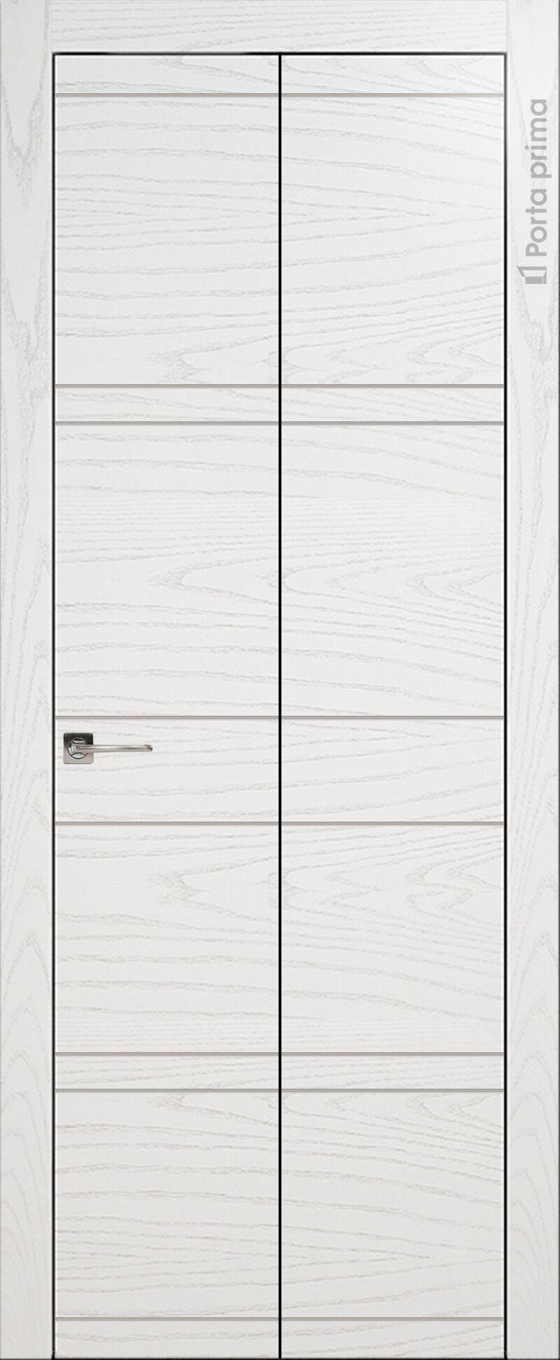 Tivoli Е-2 Книжка цвет - Ясень белая эмаль Без стекла (ДГ)