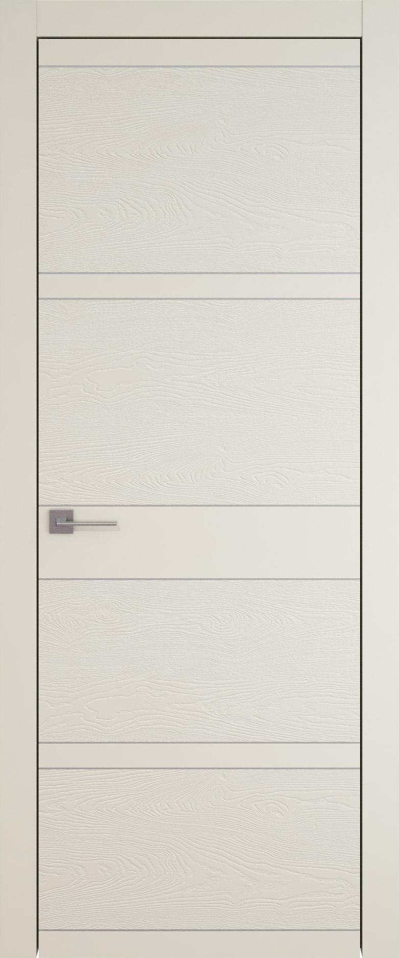 Tivoli Е-2 цвет - Жемчужная эмаль-эмаль по шпону (RAL 1013) Без стекла (ДГ)