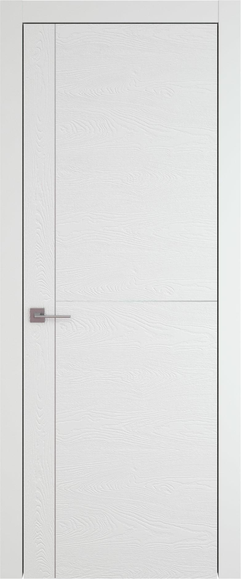Tivoli Е-3 цвет - Белая эмаль по шпону (RAL 9003) Без стекла (ДГ)