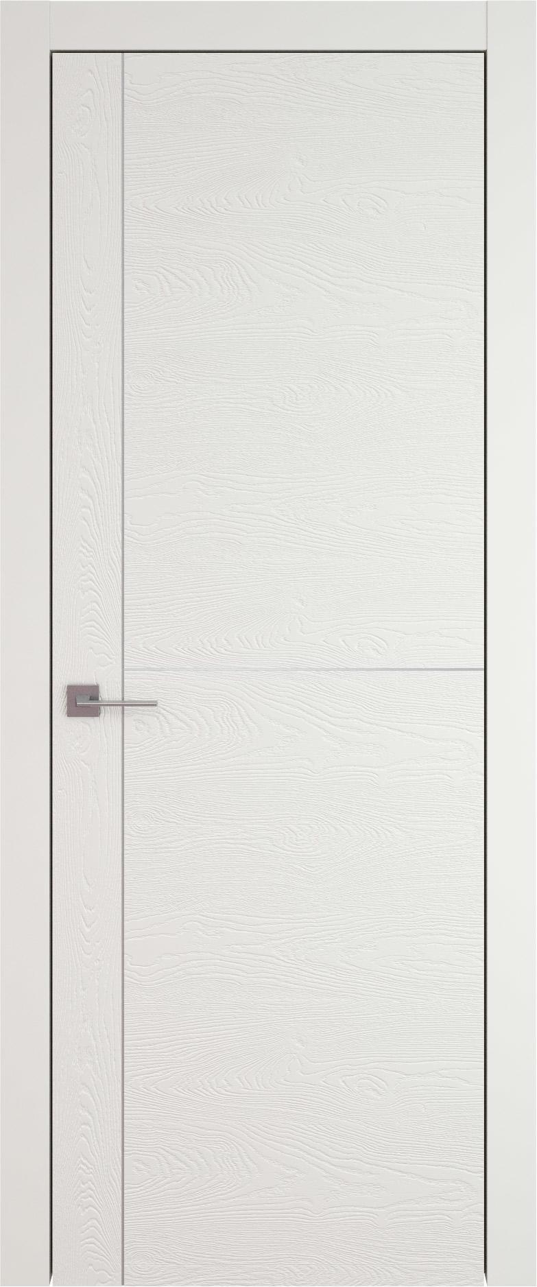 Tivoli Е-3 цвет - Бежевая эмаль по шпону (RAL 9010) Без стекла (ДГ)