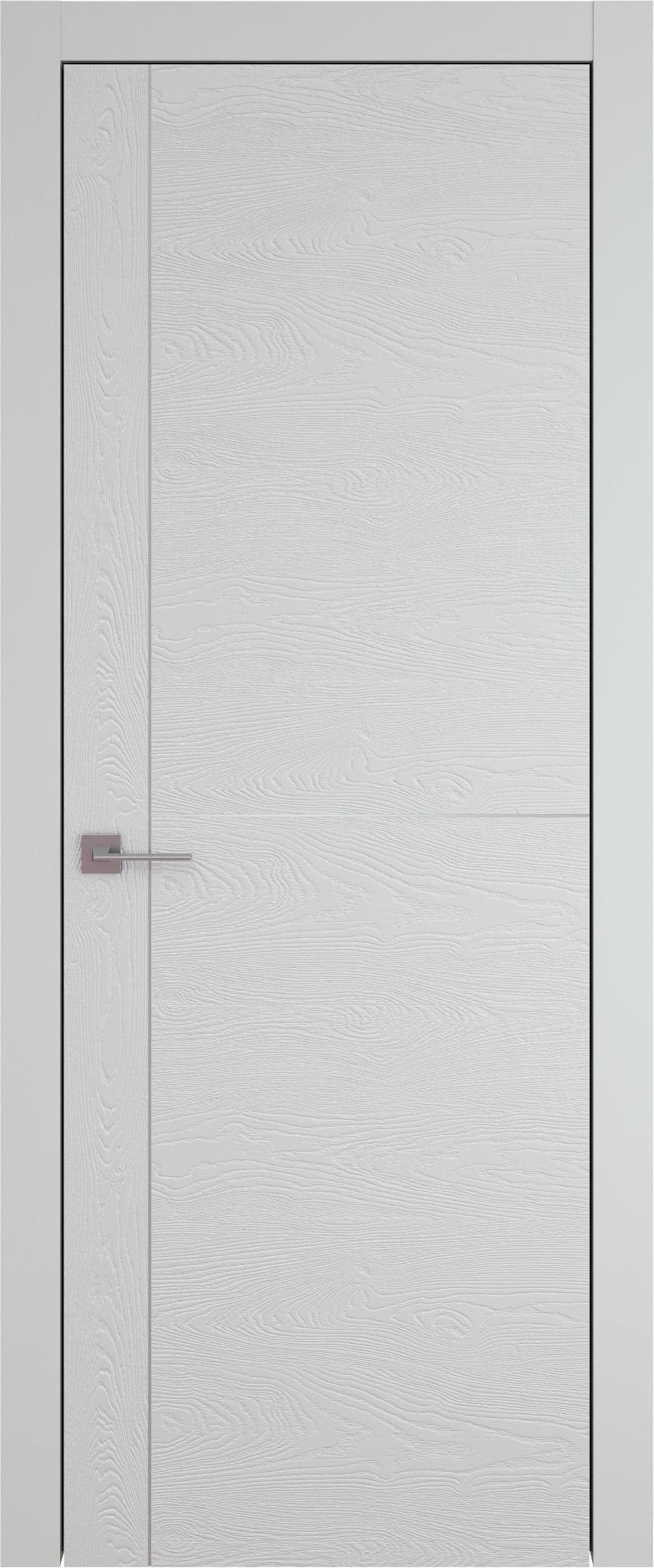 Tivoli Е-3 цвет - Серая эмаль по шпону (RAL 7047) Без стекла (ДГ)