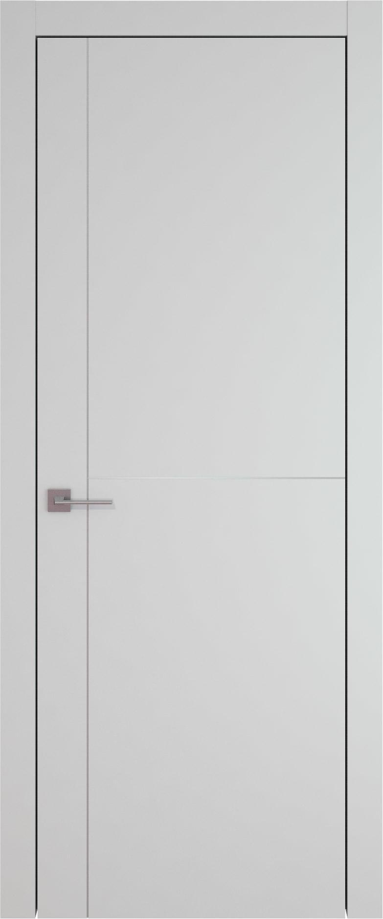 Tivoli Е-3 цвет - Серая эмаль (RAL 7047) Без стекла (ДГ)