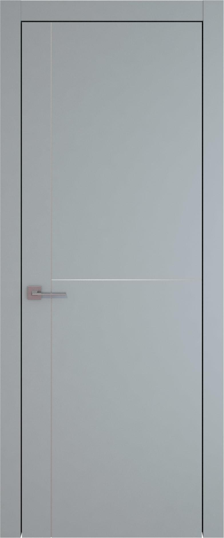 Tivoli Е-3 цвет - Серебристо-серая эмаль (RAL 7045) Без стекла (ДГ)