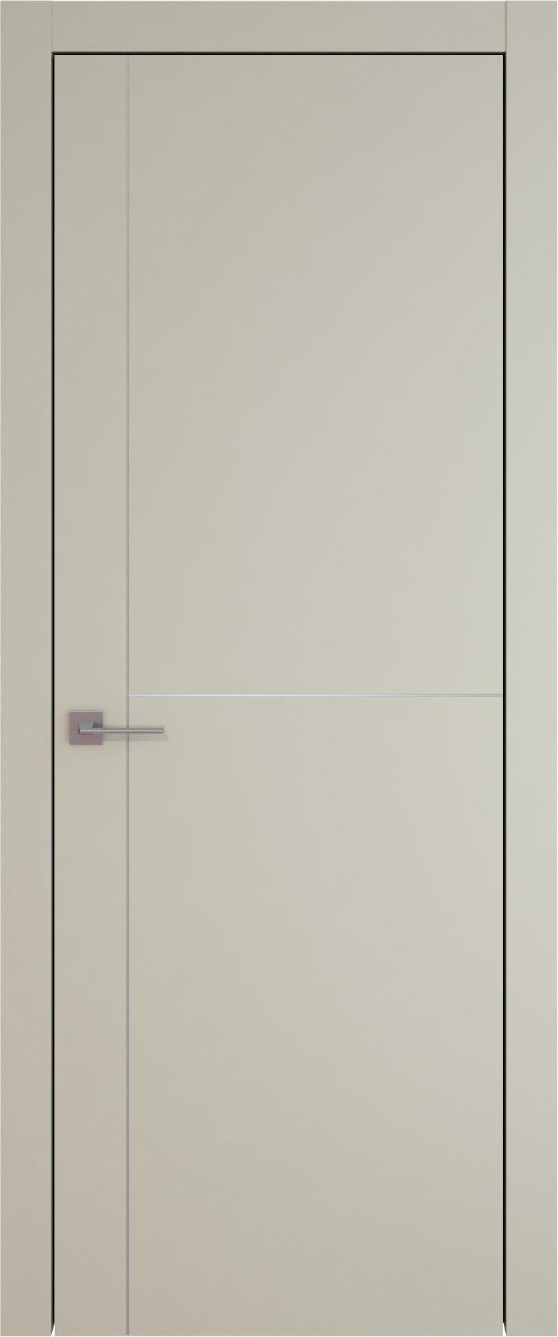 Tivoli Е-3 цвет - Серо-оливковая эмаль (RAL 7032) Без стекла (ДГ)