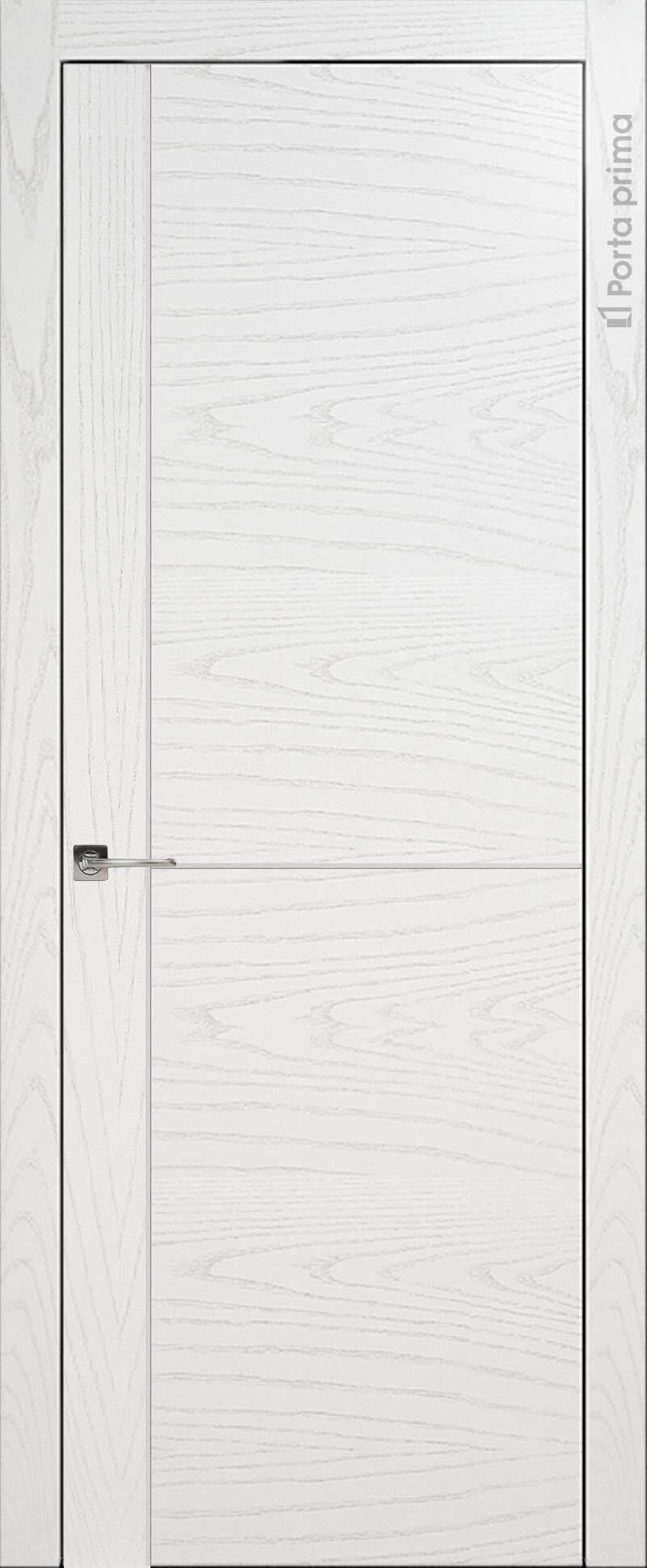 Tivoli Е-3 цвет - Белый ясень (шпон) Без стекла (ДГ)