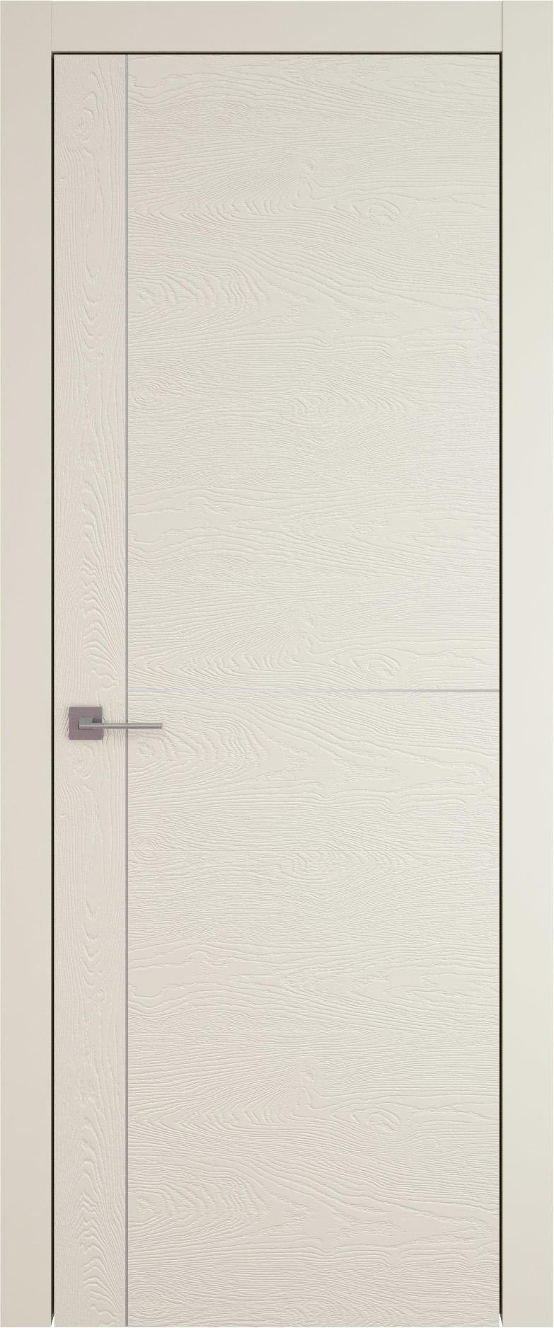Tivoli Е-3 цвет - Жемчужная эмаль по шпону (RAL 1013) Без стекла (ДГ)