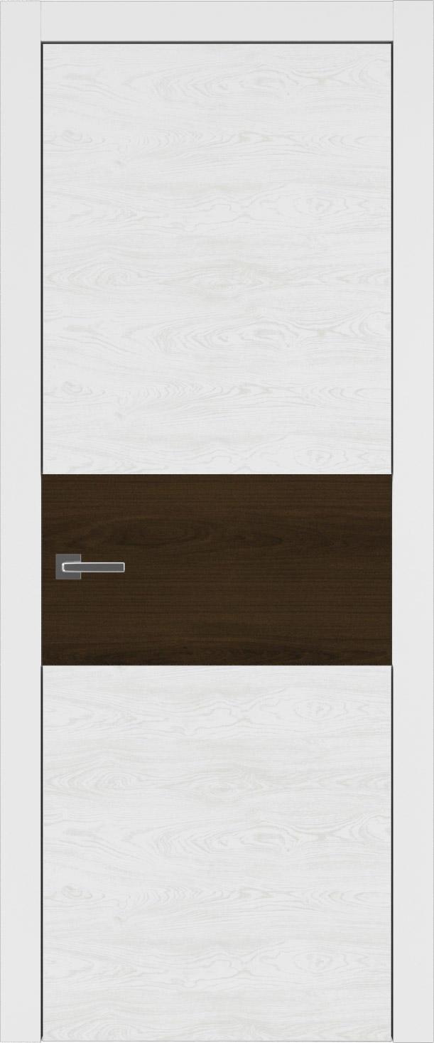 Tivoli Е-4 цвет - Белая эмаль по шпону (RAL 9003) Без стекла (ДГ)