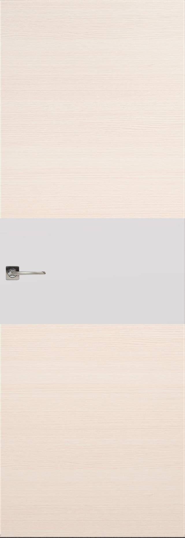 Tivoli Е-4 Невидимка цвет - Беленый дуб Без стекла (ДГ)
