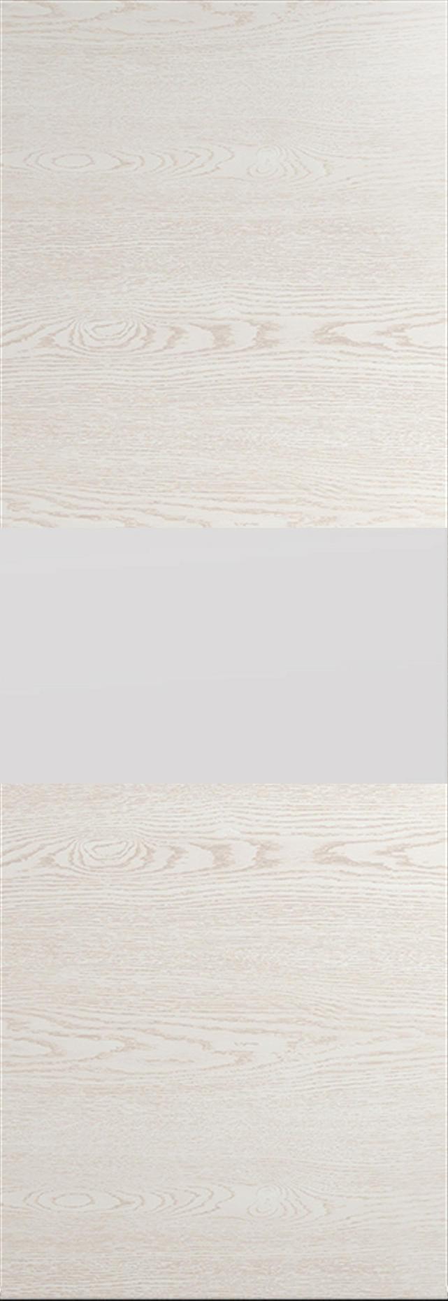 Tivoli Е-4 Invisible цвет - Белый ясень Без стекла (ДГ)
