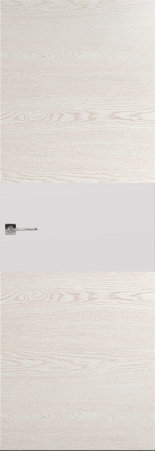 Tivoli Е-4 Невидимка цвет - Белый ясень Без стекла (ДГ)