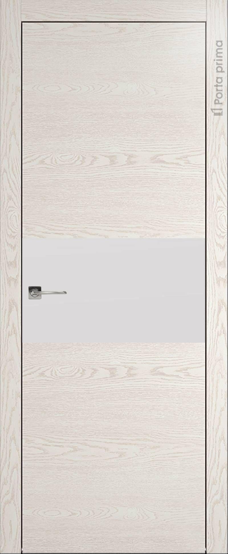 Tivoli Е-4 цвет - Белый ясень (nano-flex) Без стекла (ДГ)