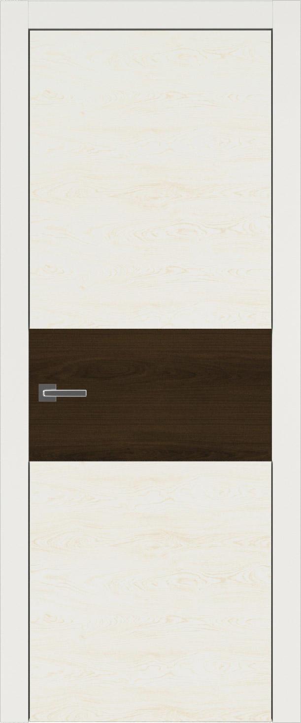 Tivoli Е-4 цвет - Бежевая эмаль по шпону (RAL 9010) Без стекла (ДГ)