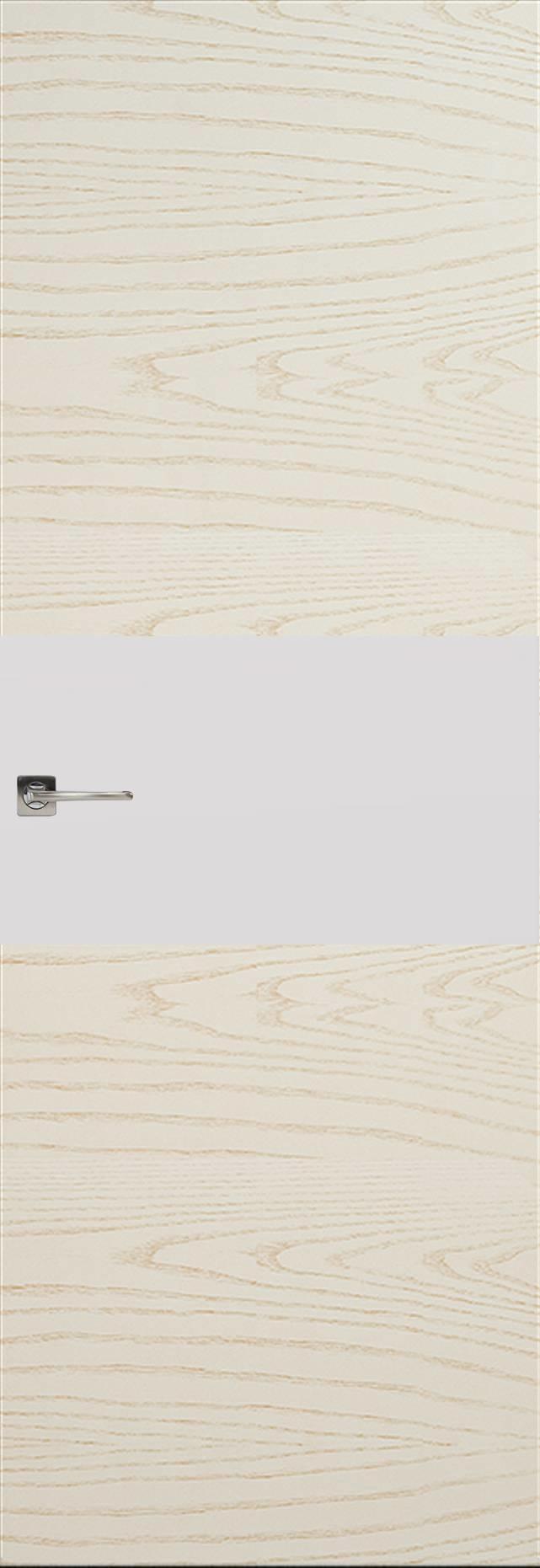 Tivoli Е-4 Невидимка цвет - Ясень бежевая эмаль Без стекла (ДГ)