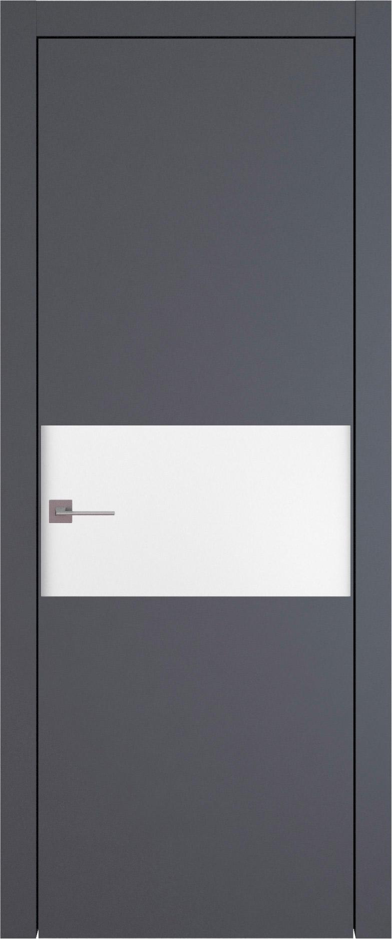 Tivoli Е-4 цвет - Графитово-серая эмаль (RAL 7024) Без стекла (ДГ)