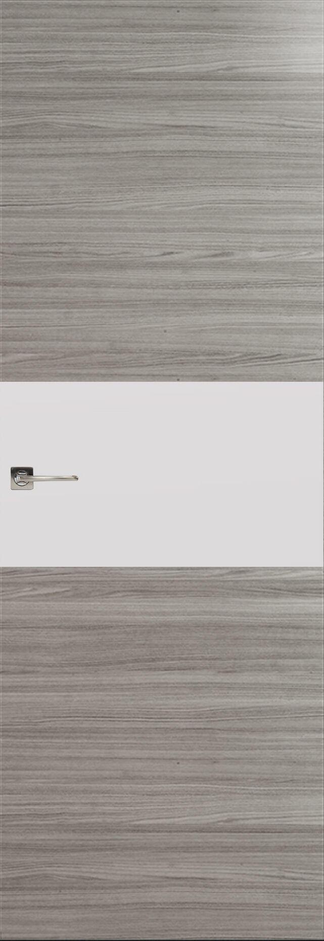 Tivoli Е-4 Невидимка цвет - Орех пепельный Без стекла (ДГ)