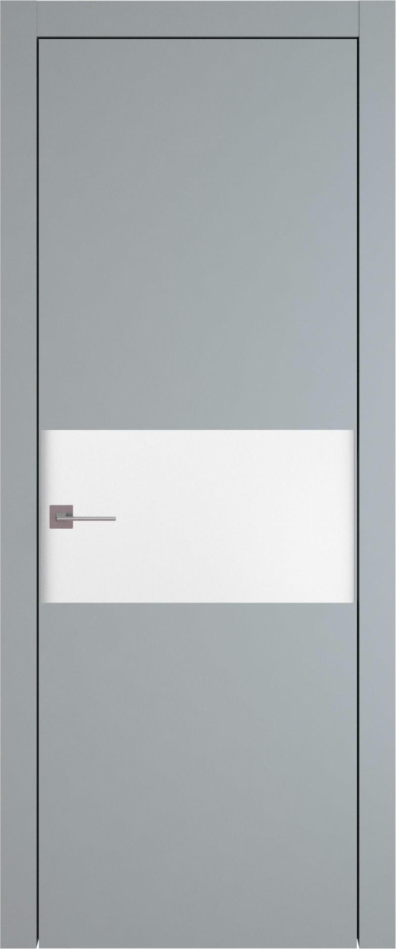 Tivoli Е-4 цвет - Серебристо-серая эмаль (RAL 7045) Без стекла (ДГ)